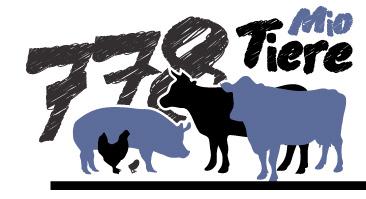 """Knapp 800 Millionen Tiere werden jährlich in Deutschland """"geschlachtet"""""""