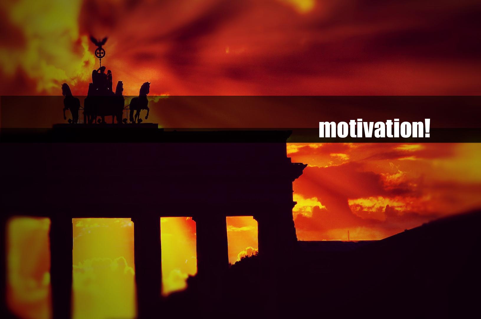 Motivation für Überzeuger