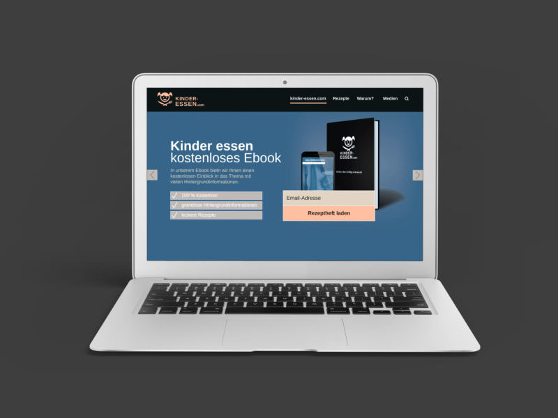 kinder-essen.com - Ebook Design