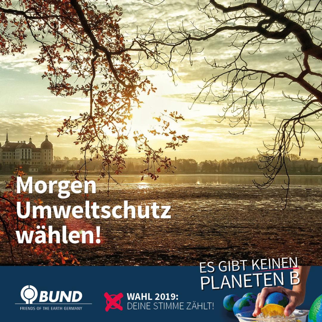 Shareables for BUND Sachsen e.V. - Vor der Wahl in Sachsen: Wahlprüfsteine