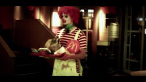 Zombie Ronald McDonald